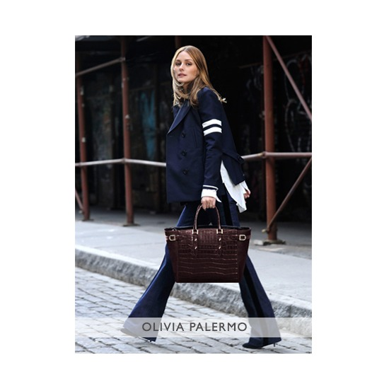 Olivia Palermo Limited Edition Marylebone Tote from Aspinal of London