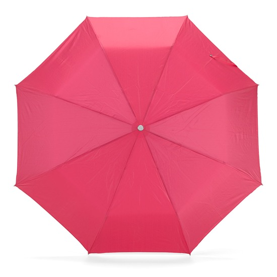 Ladies Compact Umbrella in Neon Pink from Aspinal of London