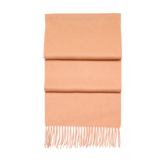 Pure Cashmere Scarf in Beige from Aspinal of London