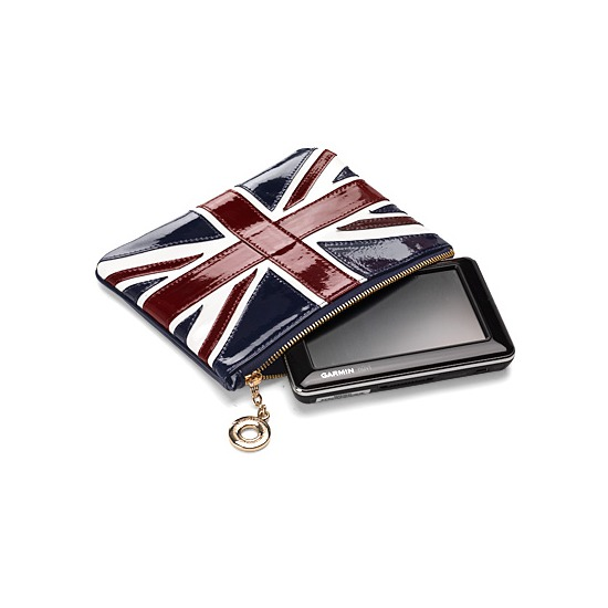 Brit Leather Sat Nav Case from Aspinal of London