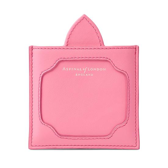 Marylebone Compact Mirror in Smooth Blossom from Aspinal of London