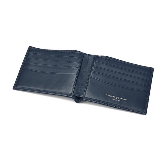 Classic Billfold Wallet in Navy Nappa from Aspinal of London