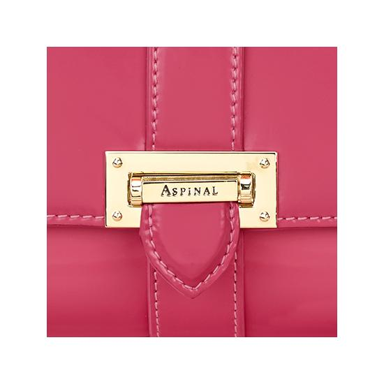 Small Lottie Bag in Camelia Polish from Aspinal of London