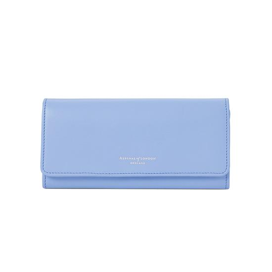 Lottie Purse in Smooth Misty Blue from Aspinal of London