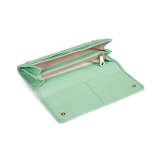 Lottie Purse in Smooth Peppermint from Aspinal of London