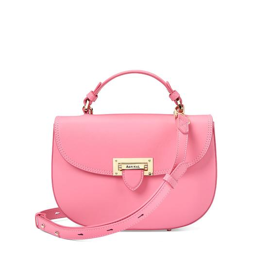 Letterbox Saddle Bag in Smooth Blossom from Aspinal of London
