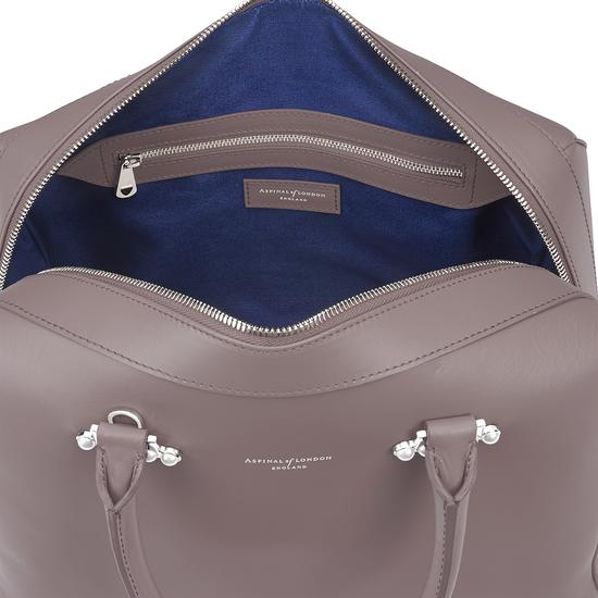Large Pearl Bowling Bag in Smooth Chanterelle from Aspinal of London