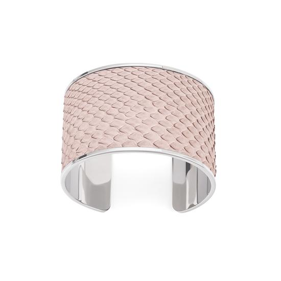 Cleopatra Cuff Bracelet in Natural Python from Aspinal of London