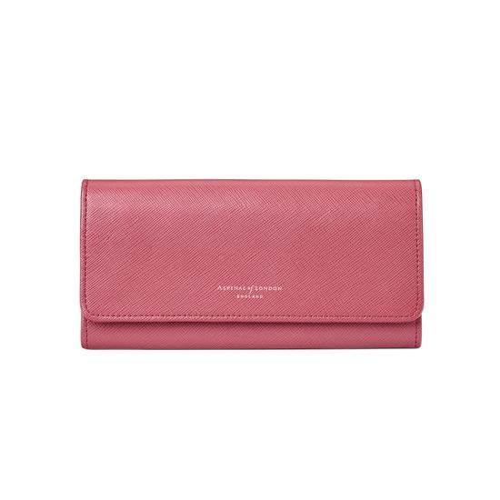 Lottie Purse in Blusher Saffiano from Aspinal of London