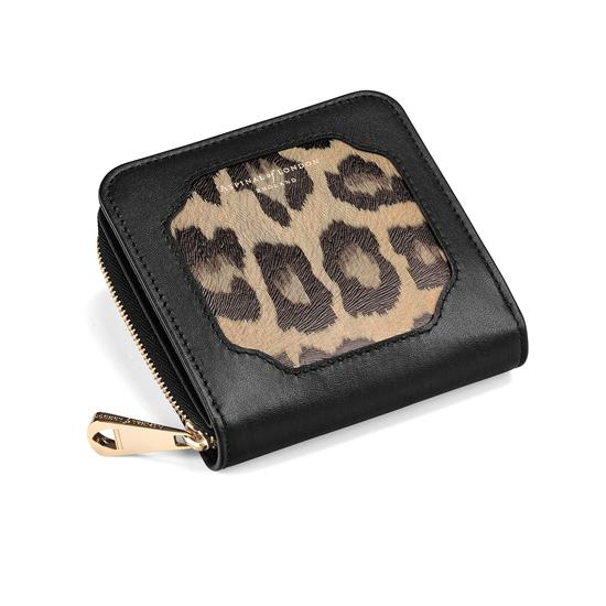 Marylebone Mini Purse in Digital Leopard Print from Aspinal of London