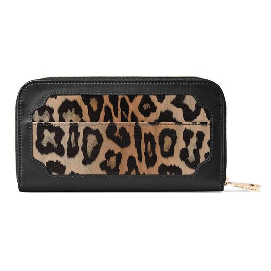Marylebone Purse in Digital Leopard Print from Aspinal of London
