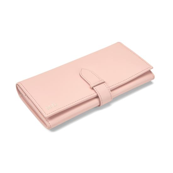London Ladies Purse Wallet in Smooth Peach from Aspinal of London
