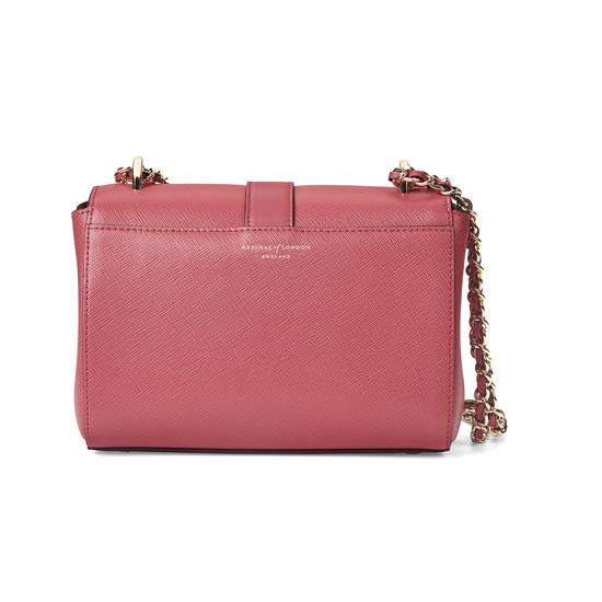 Small Lottie Bag in Blusher Saffiano from Aspinal of London