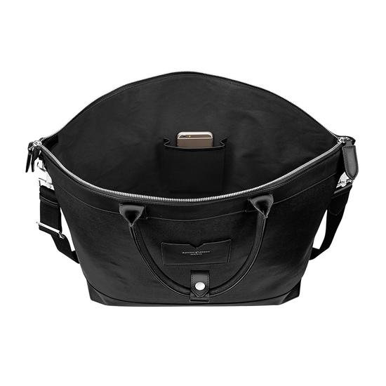 Anderson Tote in Black Saffiano from Aspinal of London