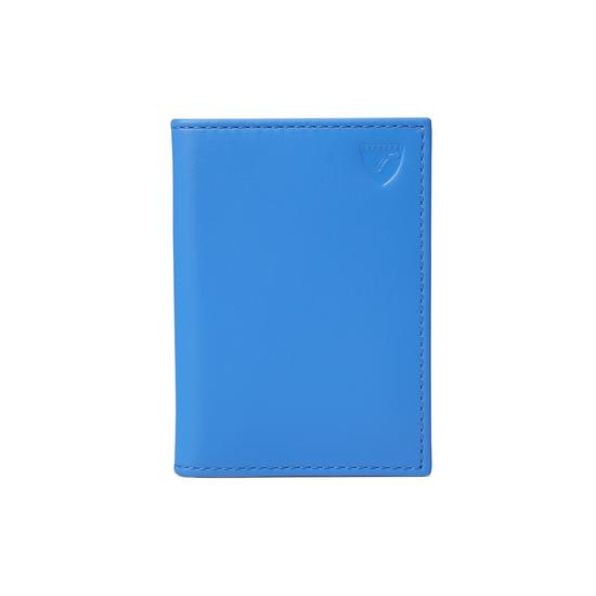 ID & Travel Card Case in Smooth Forget Me Not from Aspinal of London