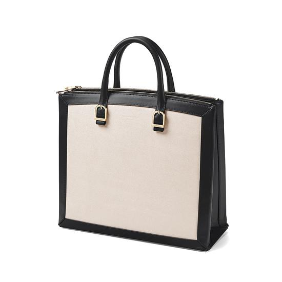 Editor's Tote in Monochrome Mix from Aspinal of London