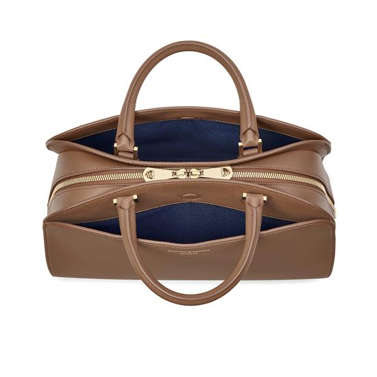 Hepburn Bag in Smooth Camel from Aspinal of London