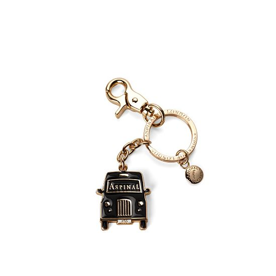 London Black Taxi Key Ring from Aspinal of London