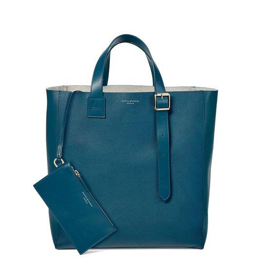 The 'A' Tote in Topaz Pebble from Aspinal of London