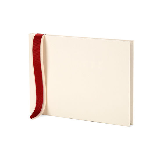 Pastel Guest Book in Ivory from Aspinal of London