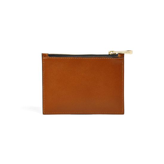 Giles x Aspinal (Small Pouch - Smooth Tan) from Aspinal of London