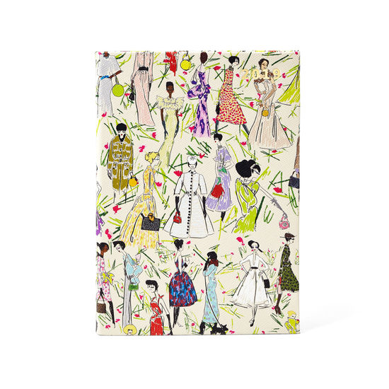 Giles x Aspinal (A5 Day to Page Diary - Girls Print) from Aspinal of London