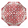 Ladies Marylebone Compact Umbrella in Berry Red from Aspinal of London